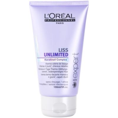 Gladmakende Crème voor Onhandelbaar en Pluizig Haar