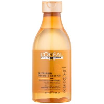 hranilni šampon za suhe in poškodovane lase