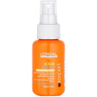 serum do włosów narażonych na szkodliwe działanie promieni słonecznych