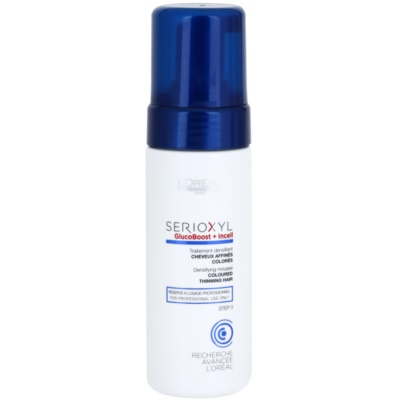 Visible Volume Foam for Coloured Hair
