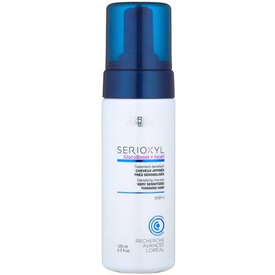 Visibly Thickening Mousse for Very Sensitive and Thinning Hair