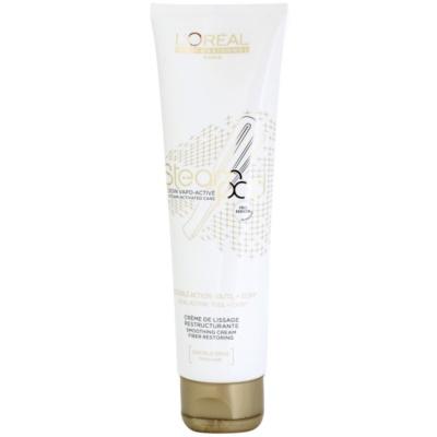 vyplňující a vyhlazující krém pro tepelnou úpravu vlasů