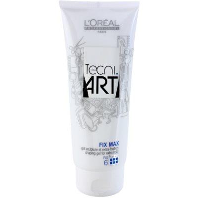 gel na vlasy pro fixaci a tvar