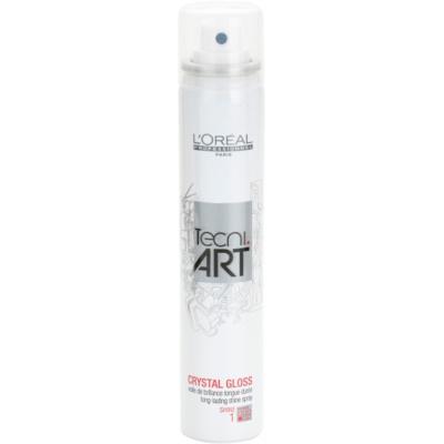 langanhaltender Glanz im Spray