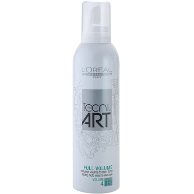 L'Oréal Professionnel Tecni Art Volume Strong Hold Fixation Mousse For Volume