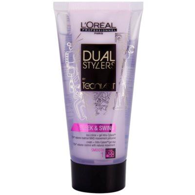 gel krém pro uhlazení vlasů