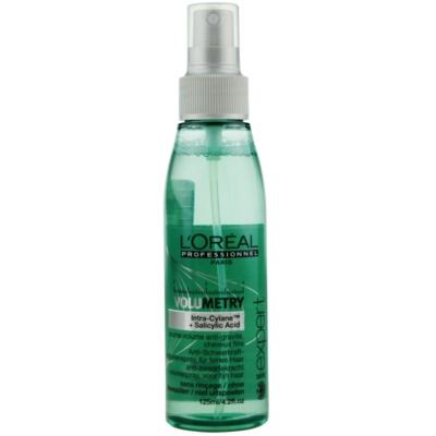 Spray für einen volleren Haaransatz