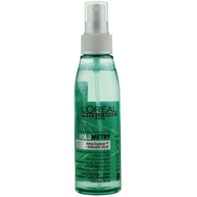 Volumenspray für feines Haar