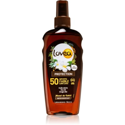 Lovea Protection Dry Sun Oil SPF 50