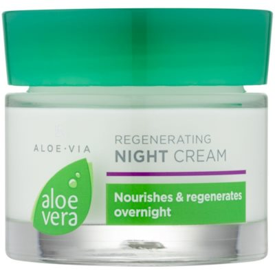 crema de noche regeneradora  con efecto humectante