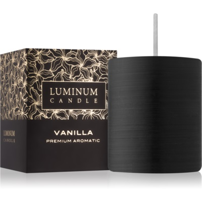 Luminum Candle Premium Aromatic Vanilla Scented Candle   mini (⌀ 50–60 mm, 15 h)