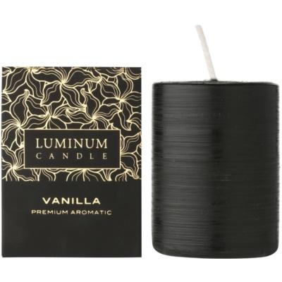 Luminum Candle Premium Aromatic Vanilla ароматна свещ    среден (⌀ 60–80 mm, 32 h)