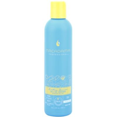 kondicionér pre vlasy namáhané chlórom, slnkom a slanou vodou