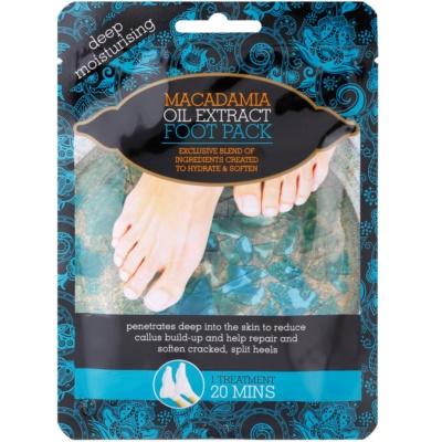 Macadamia Oil Extract Pack hidratáló zokni