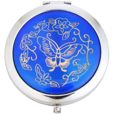 kozmetické zrkadielko okrúhle