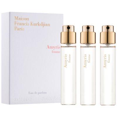 parfumska voda za ženske 3 x 11 ml polnilo