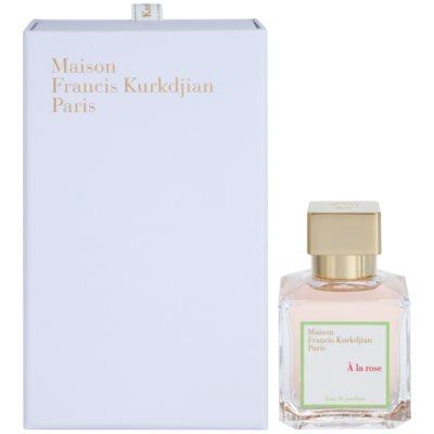 Maison Francis Kurkdjian A la Rose eau de parfum para mujer