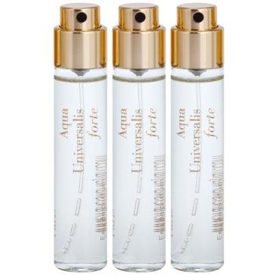 eau de parfum unisex 3 x 11 ml töltelék