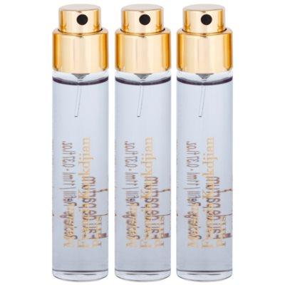 Eau de Parfum unisex 3 x 11 ml Ersatzfüllung