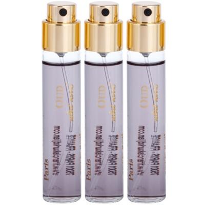 parfüm kivonat unisex 3 x 11 ml töltelék