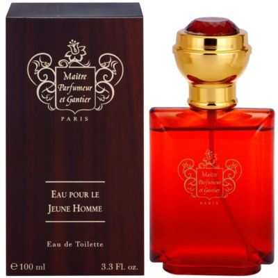 Maitre Parfumeur et Gantier Eau Pour le Jeune Homme Eau de Toilette for Men