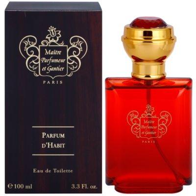 Maitre Parfumeur et Gantier Parfum d´Habit Eau de Toillete για άνδρες