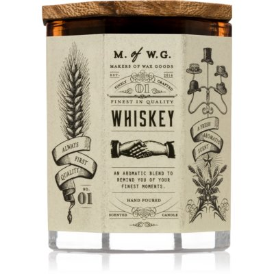 Makers of Wax Goods Whiskey Scented Candle