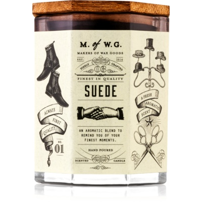 Makers of Wax Goods Suede Scented Candle