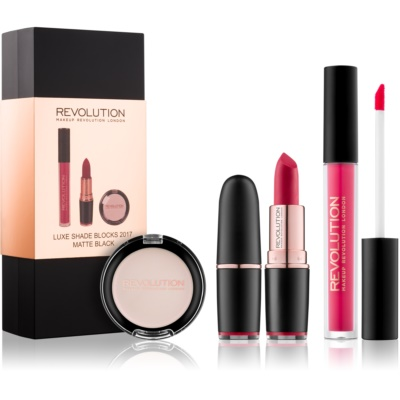 Makeup Revolution Luxe Shade Blocks lote cosmético I.