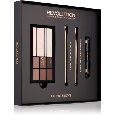 Makeup Revolution Pro HD Brows lote cosmético I.