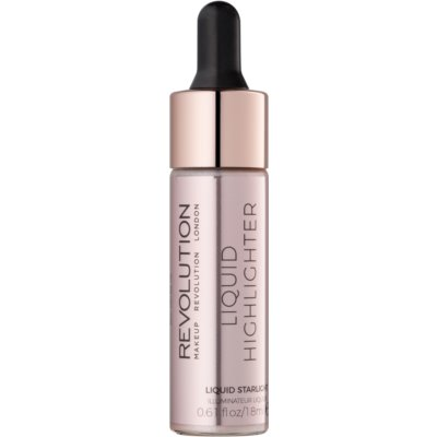 Makeup Revolution Liquid Highlighter płynny rozjaśniacz