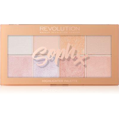 Makeup Revolution Soph X παλέτα για φωτεινότητα