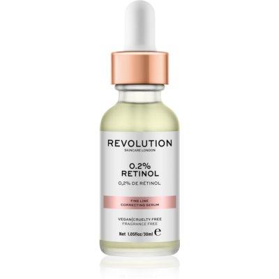 Makeup Revolution Skincare 0.2% Retinol siero correttore per rughe sottili