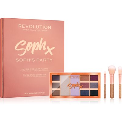 Makeup Revolution Soph X Party Soph σετ δώρου