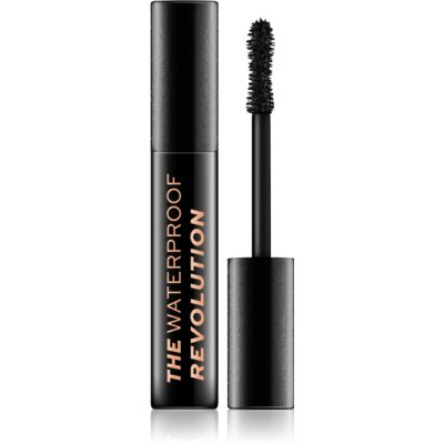 Makeup Revolution The Waterproof Mascara Revolution vodootporna maskara za volumen nijansa Black 8 ml