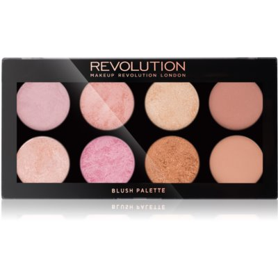 Makeup Revolution Golden Sugar 2 Rose Gold παλέτα με ρουζ