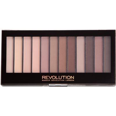 Makeup Revolution Essential Mattes 2 παλέτα με σκιές ματιών