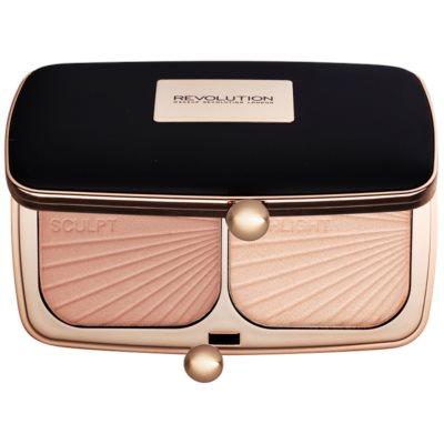 Makeup Revolution Renaissance Glow Konturier-Palette für die Wangen
