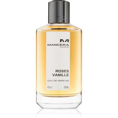 Mancera Roses Vanille Eau de Parfum para mulheres