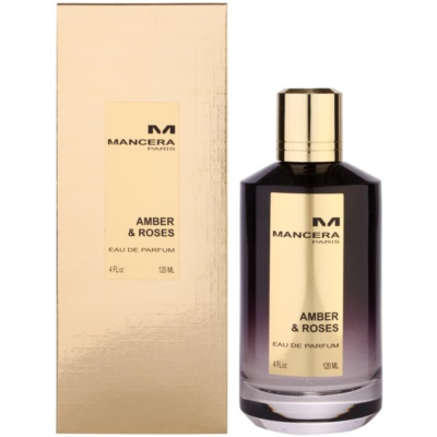 Mancera Amber & Roses parfumska voda uniseks