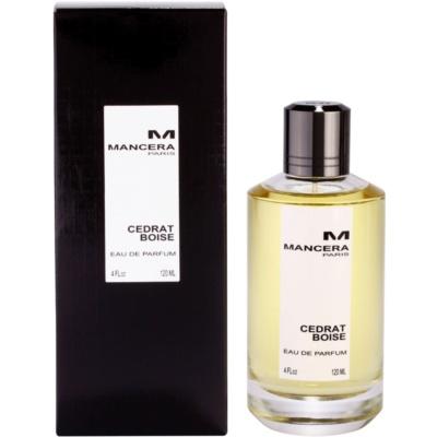Mancera Cedrat Boise eau de parfum mixte