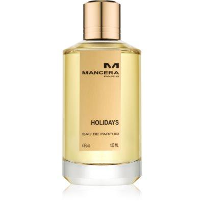 Mancera Holidays eau de parfum unissexo