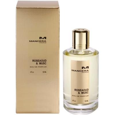 Mancera Roseaoud & Musc eau de parfum mixte