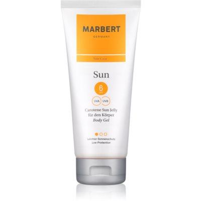 Marbert Sun Carotene Sun Jelly Bronzer Körpergel SPF 6