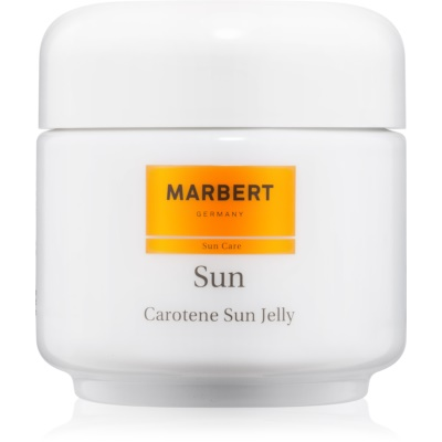 Marbert Sun Carotene Sun Jelly Bronzing Gel for Face and Body SPF 6