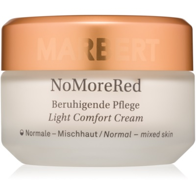 crema calmante de textura ligera para pieles normales y mixtas