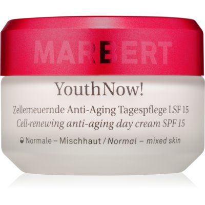 Cell-Renewing Anti-Aing Day Cream for  Normal to Mixed Skin SPF 15