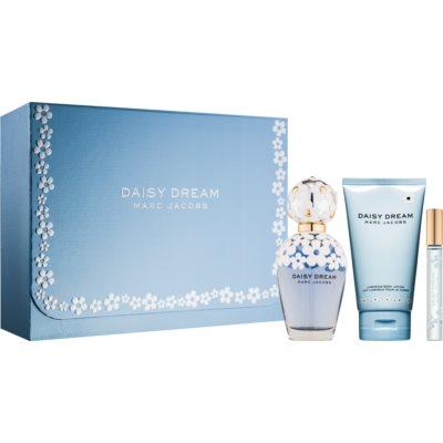 Marc Jacobs Daisy Dream Gift Set V.  Eau De Toilette 100 ml + Body Milk 150 ml + Eau De Toilette 10 ml
