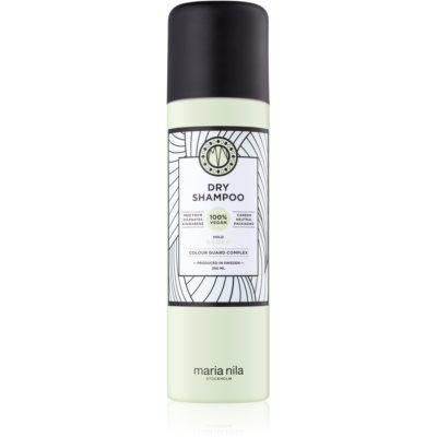 suchý šampon pro zvětšení objemu vlasů bez obsahu sulfátů