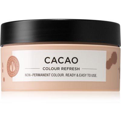 Maria Nila Colour Refresh Cacao jemná vyživujúca maska bez permanentných farebných pigmentov